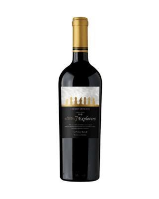 智利原装进口 库里克山谷产区 7个人特藏赤霞珠2015红葡萄酒 750ml 13%vol. 特别珍藏级 x2支