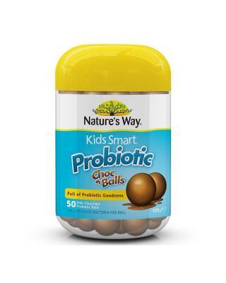 澳大利亚 Nature's Way 佳思敏儿童益生菌巧克力球 50粒 2件装
