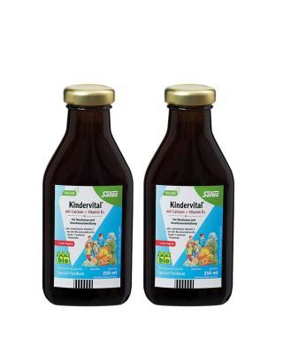 德国 Floradix 铁元 有机果蔬营养维生素 250ml 2件装