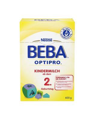 德国 Nestlé 雀巢 BEBA贝巴成长奶粉2+段(2岁以上)600g 2盒装