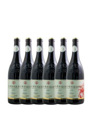 法国原装进口 尼姆丘产区 红鸢尾2016红葡萄酒 750ml 13.5%vol. AOC级别 x6支