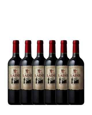 西班牙原装进口 拉曼查产区 拉迪斯2016橡木桶红葡萄酒 750ml 13.5%vol. DO级别 x6支