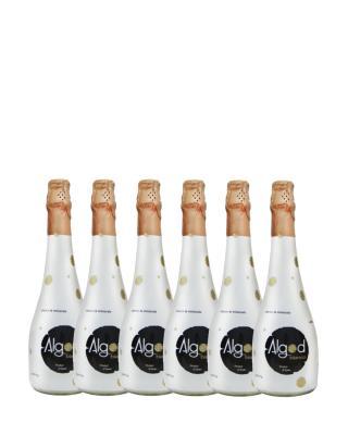 西班牙原装进口 奥格白起泡酒 750ml 5.5%vol. VDM级别 x6支