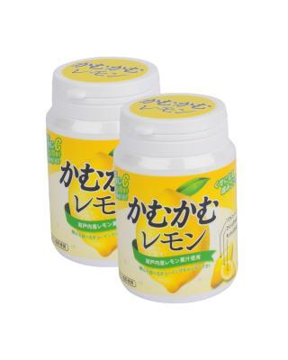 日本 CAMU CAMU 利柏 柠檬味软糖樽装120g 2包组合