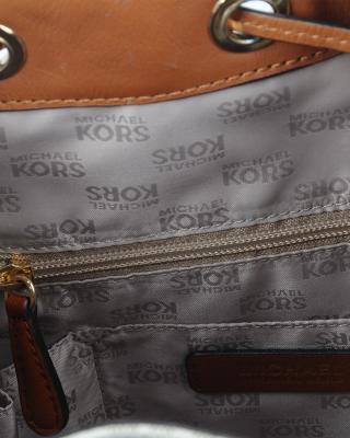 美国 Michael Kors 迈克高仕 香草色LOGO字母图案女士单肩包 RD14128B-VANILLA