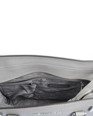美国 Michael Kors 迈克高仕 灰色小牛皮女士手提包WA2016187-GREY
