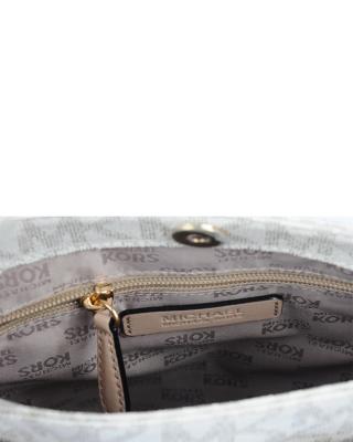 美国 Michael Kors 迈克高仕 白色小牛皮女士单肩包 RD16485B-WHITE