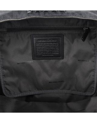 美国 Michael Kors 迈克高仕 黑色柳丁小牛皮女士双肩包 WA19624B-BLACK