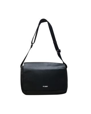 美国 Michael Kors 迈克高仕 黑色小牛皮女士单肩包 NA33365A-BLACK