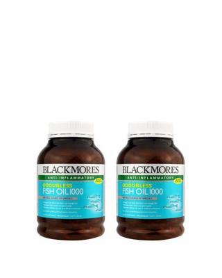 澳大利亚 Blackmores 澳佳宝超浓缩无腥味深海鱼油胶囊 400粒 两件装