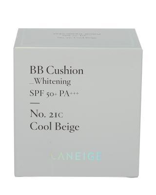 韩国 LANEIGE 兰芝 水感亮白BB CUSHION霜SPF 50+ PA+++ 15GX2 #C21 亮白色 清爽型