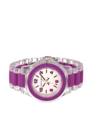 美式潮牌 Juicy Couture 橘滋优雅紫色时尚潮流石英女士腕表 1900868