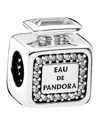 丹麦 潘多拉 PANDORA 只因有你 组合手链 (随机搭配蛇骨链)