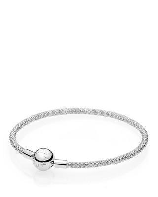 丹麦原装进口 PANDORA 潘多拉 璀璨挚爱 组合手链 (随机搭配蛇骨链)