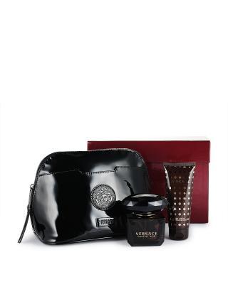 意大利 VERSACE 范思哲 星夜水晶女士香水Edt.套装: 淡香水90ml+身体乳100ml+黑色小袋