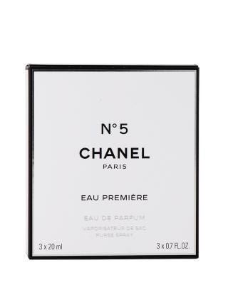 法国 CHANEL 香奈儿 5号女士低调奢华版20mlX3(补充装X2, 可补充装(连喷)X1)