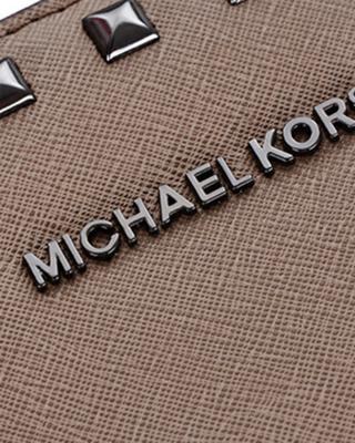 美国 Michael Kors 迈克高仕 SELMA STUD系列 深卡其色牛皮铆钉女士手提斜挎单肩包 30T6TSMS2L DK DUNE