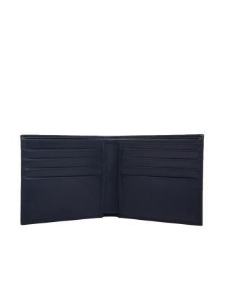 意大利 Prada 普拉达 蓝色皮革短款男士钱包 2M0513-053-F0216