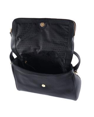 美国原装进口 Kate Spade 凯特丝蓓 miri chester street 黑色皮革女士小号单肩手提包 WKRU4076-001