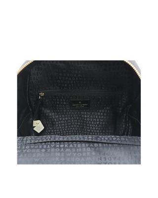 美国原装进口 Kate Spade 凯特丝蓓 bradley atwood place 黑色皮革女士小号双肩包 WKRU5311-001