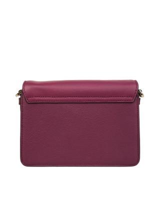 美国原装进口 Kate Spade 凯特丝蓓 kaela caramel court 紫红色皮革女士小号单肩斜挎包  WKRU4760-585