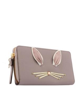美国原装进口 Kate Spade 凯特丝蓓 rabbit neda 女士小兔子钱包 WLRU3200-150