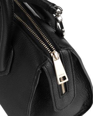 意大利原装进口 FURLA 芙拉 女士黑色皮革手提斜挎单肩包 997353 B BMN1 OAS Onyx