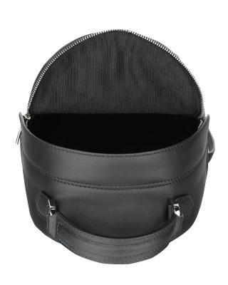 意大利原裝進口 FURLA 芙拉 女士黑色皮革雙肩包 998393 B BTL0 Q14 Onyx