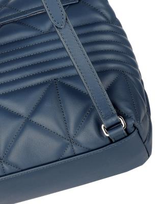 意大利原裝進口 FURLA 芙拉 女士深藍色皮革雙肩包 988338 B BTE1 WNT Ardesia e