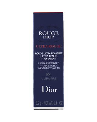 法国 Dior 迪奥 红管惹火蓝星口红唇膏 3.2g #651 ULTRA FIRE
