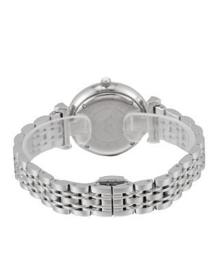意大利原装进口 Emporio Armani 安普里奥·阿玛尼 银色钢带石英女士手表 AR1925 满天星手表