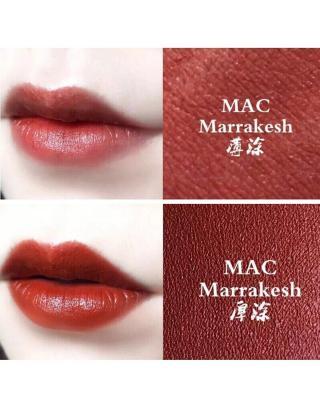 美国 M.A.C  魅可 经典唇膏 3g  #MARRAKESH 枯叶橘