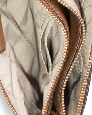 美国 Michael Kors 迈克高仕 棕色皮革女士单肩斜挎包 32S0G00C2L LUGGAGE