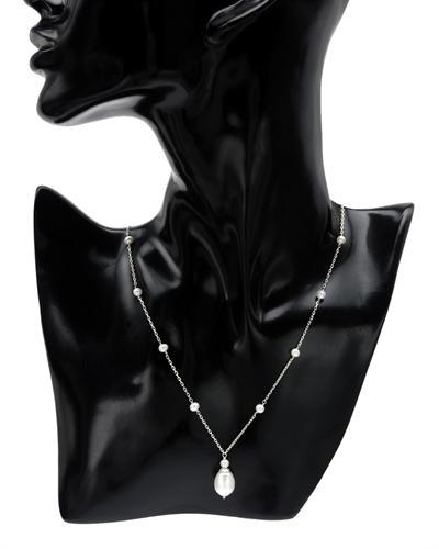 Krementz 韦文氏 925银天然珍珠项链