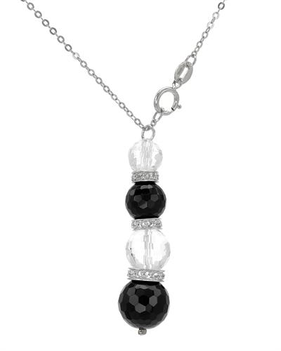 FPJ 925银10.95克拉天然水晶项链