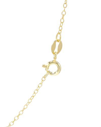 FPJ 925银镀金宝石项链