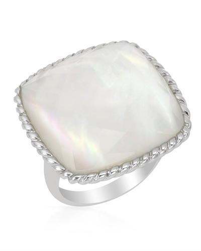 FPJ 925银18.7克拉天然珍珠戒指