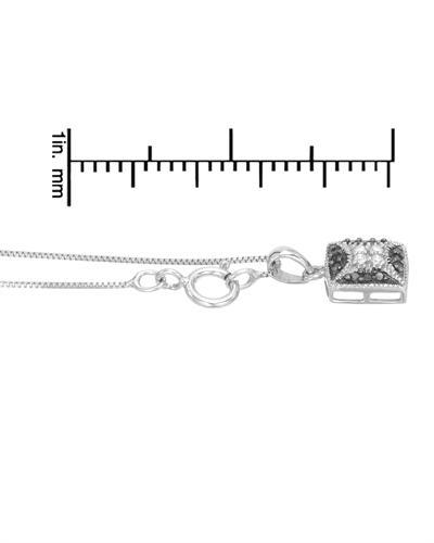 De Dears 黛狄尔斯 925银0.12克拉纯天然钻石项链