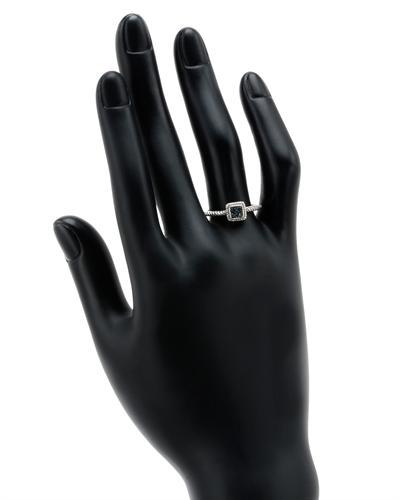 De Dears 黛狄尔斯 925银0.05克拉纯天然钻石戒指