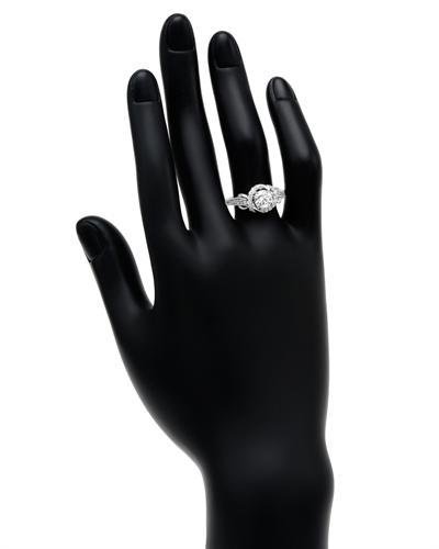 De Dears 黛狄尔斯 14K白金1.38克拉纯天然钻石戒指