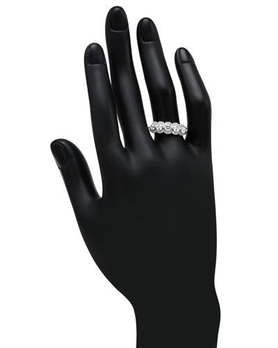 De Dears 黛狄尔斯 14K白金1.01克拉纯天然钻石戒指