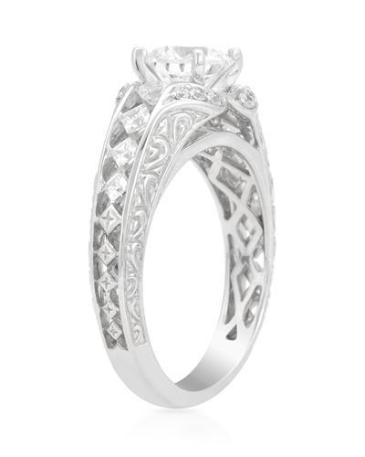 De Dears 黛狄尔斯 14K白金1.56克拉纯天然钻石戒指