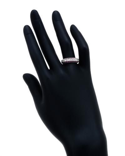 De Dears 黛狄尔斯 14K白金0.91克拉天然蓝宝戒指