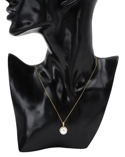 De Dears 黛狄尔斯 14K黄金天然珍珠项链