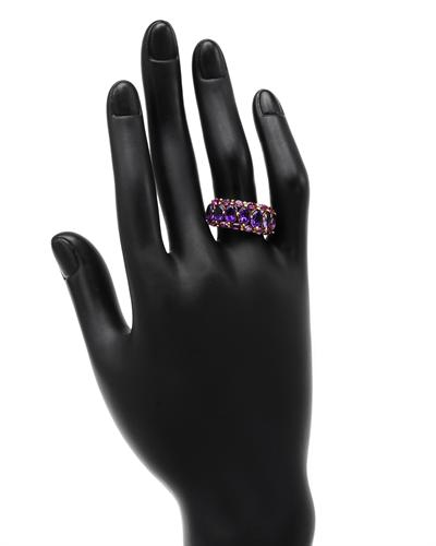 Celine Fang 赛琳.方 14K黄金4.26克拉天然紫晶戒指