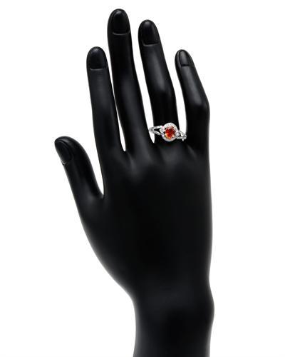 Celine Fang 赛琳.方 10K白金0.58克拉天然黄晶戒指
