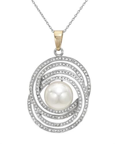 De Dears 黛狄尔斯 925银1.01克拉纯天然钻石项链
