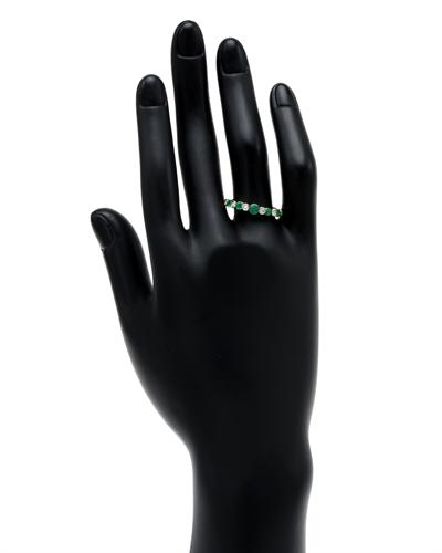De Dears 黛狄尔斯 14K彩金0.75克拉天然祖母绿戒指