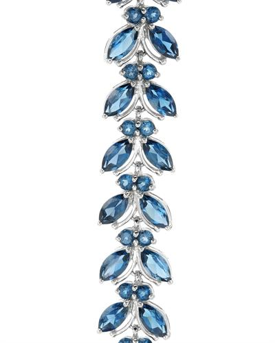 Krementz 韦文氏 25银21.76克拉天然蓝晶手链