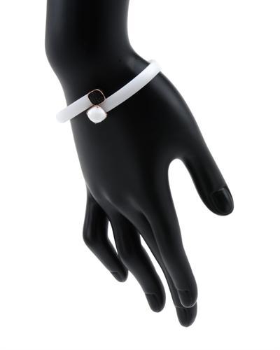 Krementz 韦文氏 银镀金天然缟玛瑙手链